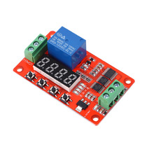 New Arrival 12V DC Multifunction Self-lock Relay PLC Cycle Delay Time Timer Switch Module High Quality