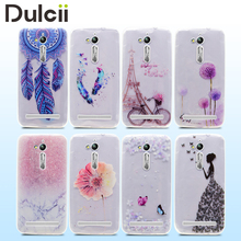 for coque Asus Zenfone Go ZB500KL Phone Cases Pattern Printing TPU Jelly Mobile Case Cover for Asus Zenfone Go ZB500KL funda bag