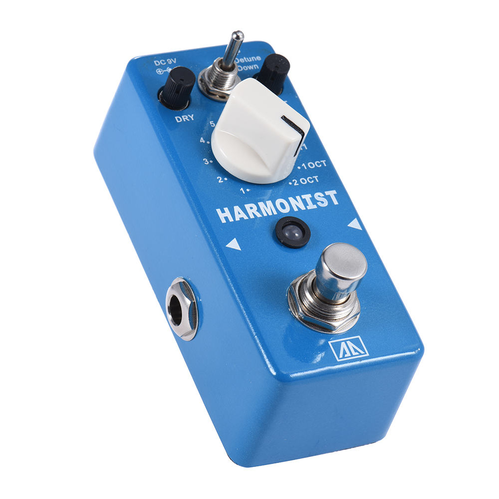 AROMA AHRA-5 HARMONIST 3 Modes Pitch Shifting Harmony With True Bypass Effects Guitar Parts Aluminum Alloy Body<br>