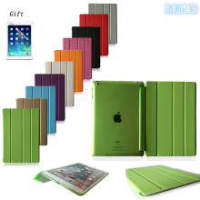 New PU Leather Slim Magnetic Front Smart Cover Skin+Hard PC Back Case For Apple iPad 2 3 4 A1460`A1459`A1458`A1416`A1430`A1403
