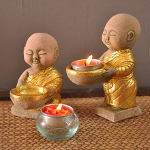 Southeast Asian style Thai night light Lord furniture accessories wedding decoration Candle lamps ZA114406(China)
