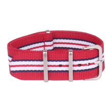 Buy 2 Get 20% OFF Wholesale bracelet military Watch 24 mm Multi Color Red navy Army nato Nylon watchbands Strap belt 24mm