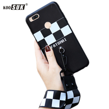 Arm Rope Phone Case For Xiaomi Mi 5X Fashion Stripe Format Style Back Cover For Xiaomi Mi5x A1 TPU Soft Protection Shell Coque(China)