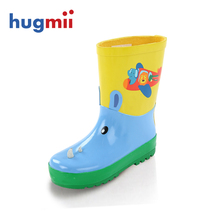 Children's Rain Boots wellies cute cartoon Boys and Girls slip Baby shoes, overshoes Water shoes for Children