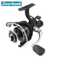 RiverHawk ARES High Quality  Metal Spinning Fishing Reel  3000-6000 series 9+1 BB Carp Fishing Reel Bait Runner Fishing Wheel