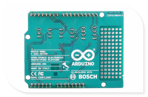 new Italian original 9 Axes Motion Shield for arduino, based BNO055 integrated accelerometer gyroscope geomagnetic sensor etc.<br>