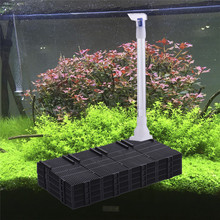 Fish Tank Filter Plate Under Gravel Filter bottom Sand Filter Aquarium Arbitrarily Accembled With Expandable Water Pipe 2017(China)