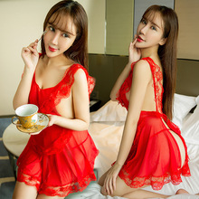 2016 new Lace maid uniforms sexy lingerie hot teddy bow lenceria costumes erotica sex underwear For woman