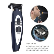 Professional trimer beard trimmer for men rechargeable moustache shaving hair face electric cutting Length setting 0.4-5mm
