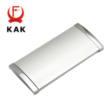 Brand KAK 1PC Diameter 102MM Hole Pitch 96MM Aluminum Alloy Handles With Screws Drawer Furniture Wardrobe Knobs Cabinet Hardware(China)