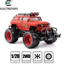 E T 1:20 RC Car Machines On The Radio Controlled Remote Control Cars 27MHZ Monstertruck Off Road RC Toy For Boys Kids Gifts(China)
