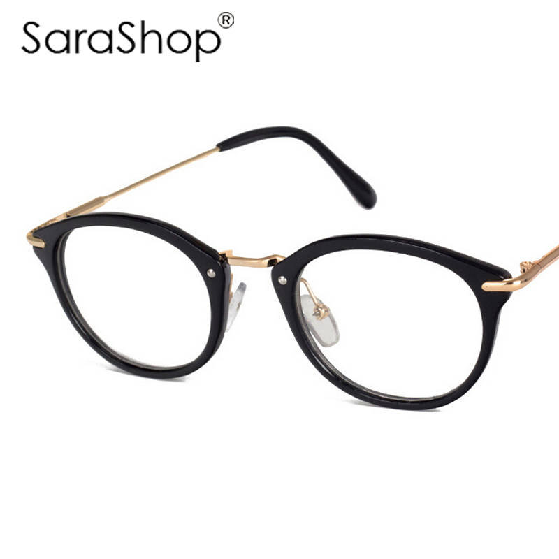 Fashion Style Frame Plain Eyeglass Frame Optics Clear Reading Glasses Trendy Goggles for Men Women oculos feminino a863<br><br>Aliexpress