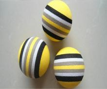 Wholesale Eco-friendly EVA Colorful Golf practice balls Indoor Rainbow Golf Ball Soft Toy balls
