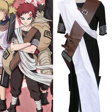 Customized Naruto Gaara First Generation Cosplay Costume Clothes Cartoon Character Costumes(China)