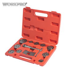 WORKPRO 12PC Auto Disc Brake Caliper Wind Back Tool Kit Car Repair Tool Set(China)