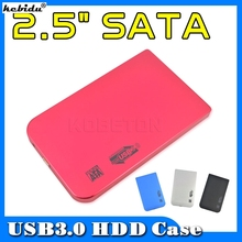 "kebidu Fashion Portable Usb 3.0 to SATA 2.5"" External HD Hard Disk Drive Hdd Case Enclosure 2.5 inch for Laptop Computer(China)"