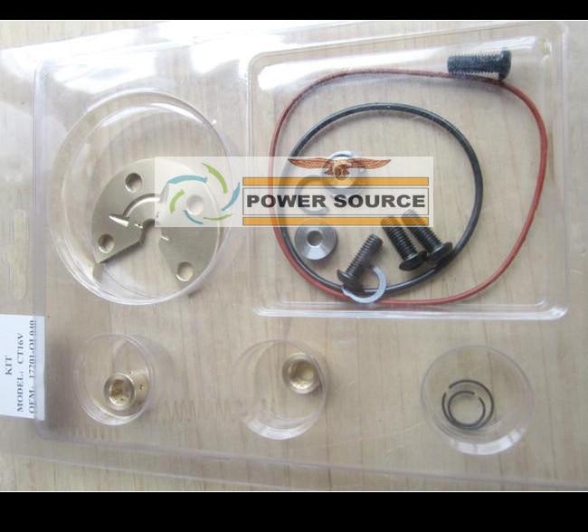 Turbo Repair Kit Rebuild GT17 721164 17201-27040 Turbocharger For TOYOTA RAV4 Auris Avensis Picnic Previa 1CD-FTV 1CD  021Y 2.0L<br>