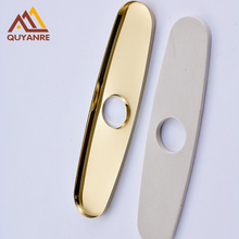Gold/Blackened 10 Inch Round Cover Plate for 2-3 Hole Mixer Tap Bathroom and Kitchen Faucet Accessories