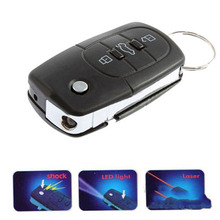 Details about  3in1 Toy Electric Shock Gag Joke/Car Key Remote Control/Flashlight Prank Toy