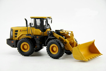 new Fine Original factory 1:35 Shandong Lingong L955F loader forklift Alloy engineering machinery model Collection model Holiday
