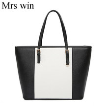 Mrs win NEW Large Capacity Luxury Handbags michael same style Women Bags Designer Famous Brand Lady Leather Tote Bags sac a main