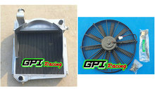 aluminum alloy radiator +FAN FOR Austin Healey Sprite Bugeye/MG Midget(China)