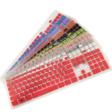 laptop keyboard sticker For DELL KB113T KB113P Cute Colored Silicone keyboard Cover Keyboard waterproof keyboard protective film