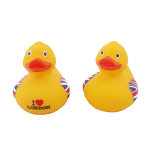Children Mini Cute Baby Bath Toys Inflatable Swimming Floating Rubber Duck Yellow Pool Bathing Beach Party Kids Bath Toys(China)