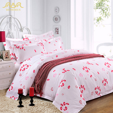 ROMORUS New 5-Star Cotton Stain Hotel Bedding Set King Queen Size 4pcs White Bed Duvet Cover Set Top Quality Hotel Bed Linen Hot