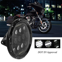 DOT ATV SUV Driving 7INCH LED Motorcycle Headlight Projector Daymaker HID LED Light Bulb Headlight for Harley