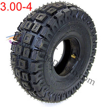3.00-4 Scooter tyre Mini ATV wheel tyre Qinda brand Wheel Tires Off Road pattern Qinda brand Wheel Tires(China)