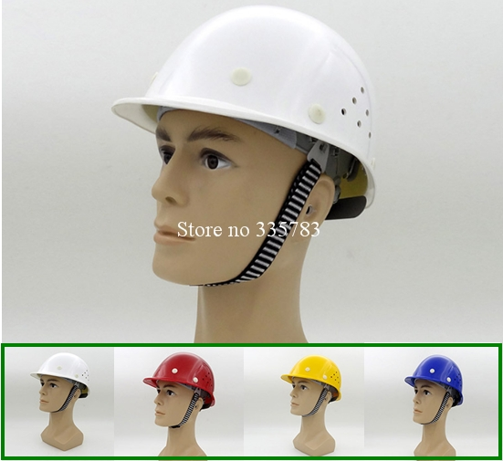 FRP safety helmet high quality EC certification riot helmets ventilate Electrical insulating safety helmets Light weight<br>