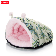 Warm Dog cat bed house Tent High Quality Small Cat Bed Puppy House Pet Product for Teddy Bichon Pekingese Snow Rena Cat Dog Bad