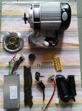 750W   60V  brushless  gear decelerating  motor, light electric tricycle  kit