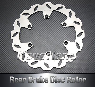 New Arrival Motorcycle Rear Brake Disc Rotor for Suzuki RM 125 250 DRZ SM 400 99-09 Free shipping C20<br>