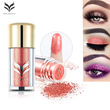HUAMIANLI Pro Makeup Glitter Eyeshadow Cosmetic Makeup Shimmer and shine Pigment Powder Beauty maquiagem Nude Eye Shadow Pallete