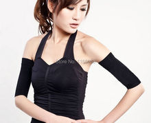 50pcs/lot Waist corsets Thin arm grain type sets Pressure Fat Burning Stovepipe socks Series Beam arm Shapers(China)