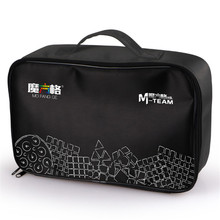 QIYI MoFangGe Black Cubes Bag M-Bag Handbag Magic Cubes Shoulder Bags for 2x2 3x3 4x4 5x5 Skewb Pyraminx Megaminx Cubes Bags(China)