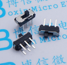 Free shipping 50PCS MSS-22D18 MSS22D18 2P2T 6PINS slide switch Pull switches ON/OFF good quanlity