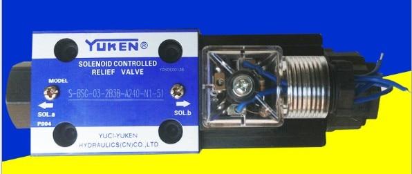 YUCI YUKEN overflow valve S-BSG-06-3C with low noise high pressure solenoid valve<br><br>Aliexpress