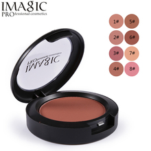 IMAGIC For Women Beauty Face Blush Makeup Baked Cheek Color Bronzer Blusher Palette Colorete Sleek Cosmetic Shadows 1PC