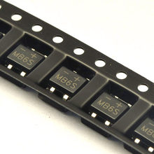 50PCS SMD MB6S 0.5A 600V Single Phases Diode Rectifier Bridge SOP-4(China)