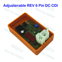 DC CDI ECU Adjustable REV Box For Hammerhead GT GTS SS 250 Joyner Sand Viper 250cc Go Kart(China)