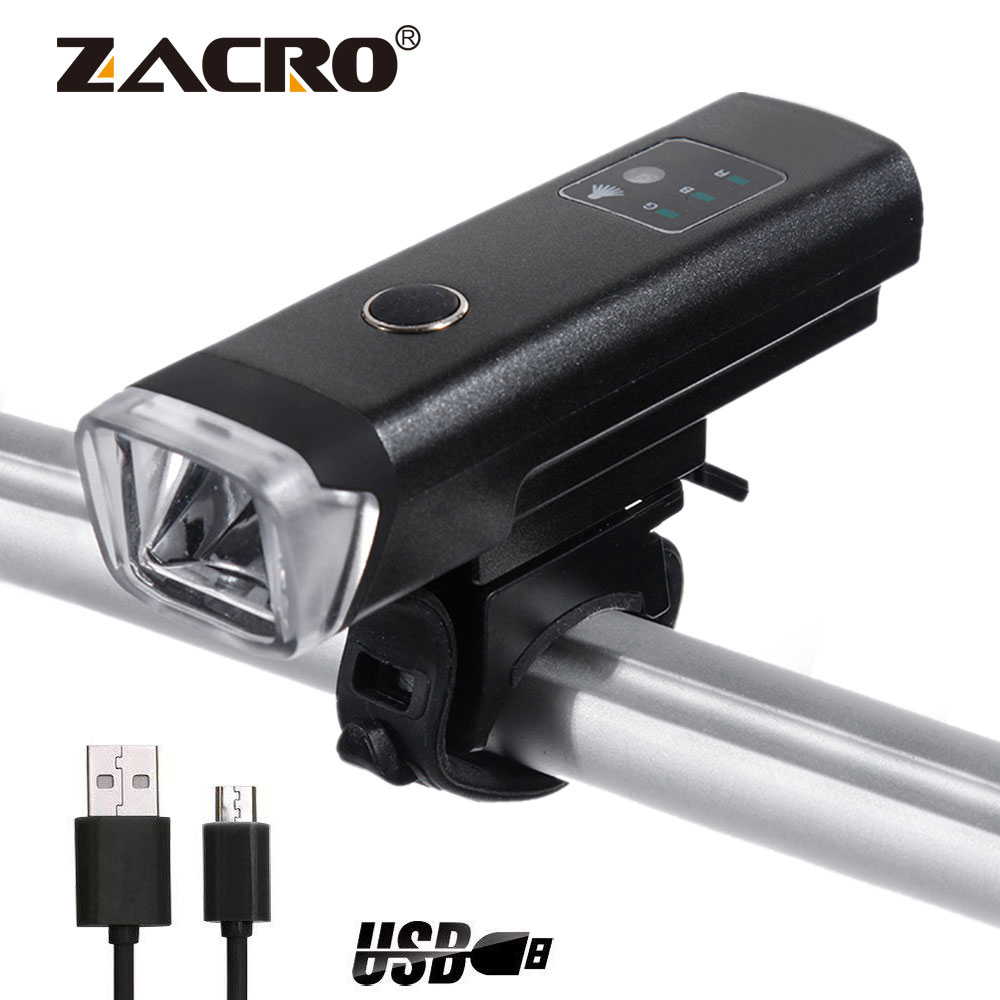USB Rechargeable XPG 240 Lumens Bike Bicycle Speaker Headlight Tail Front Lamp