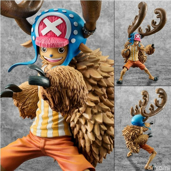 One piece manga model toys ONE PIECE - Tony Tony Chopper , Animation model toy. Classic cartoon figures Gifts for children<br>
