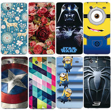 Painted Phone Case For Samsung Galaxy S Advance i9070 Relief Printing Cartoon Original Back Cover Protective Shell Skin Hood