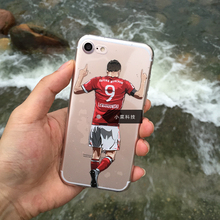 Football superstar Robert Lewandowski case design for iphone 6 6s 5 5s se 7 7plus plus 6s plus soft TPU case