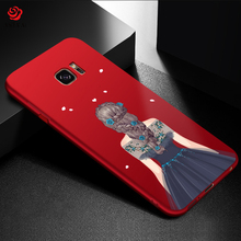 ASINA Fashionable Full Cover Case For Samsung Galaxy S7 Case Luxury With Beautiful Dress Silicone Cover For Samsung S7 Edge(China)
