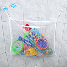 Kids Baby Bath Time Toy Tidy Storage Suction Cup Bag Mesh Bathroom Organiser Net(China)