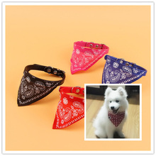 The Cheapest Price Fashionable Dog Necktie Adjustable Pet Dog Puppy Cat Neck Scarf Collar Neckerchief Pet Supplies High Quality